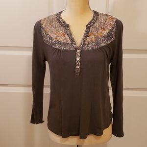 Anthropologie top - 100% cotton
